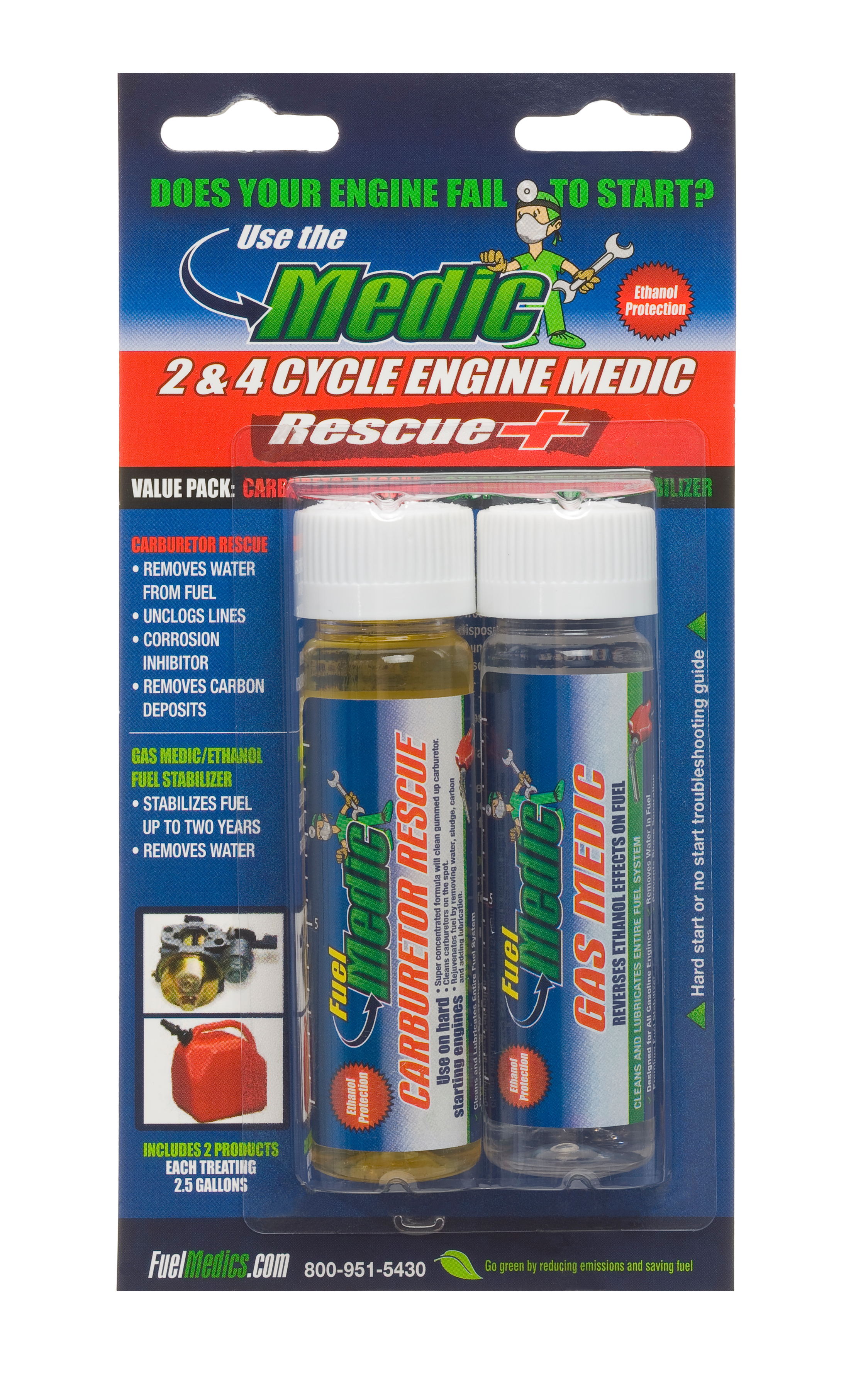 2 & 4 Cycle Medic Rescue